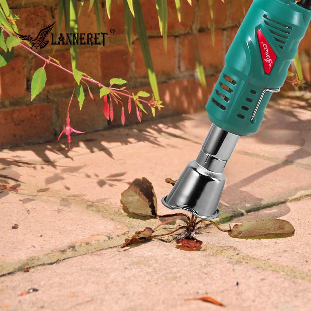 LANNERET 2000 Вт горелка для сорняков, электрическая термальная горелка для сорняков, горячая воздушная горелка для травы, садовый инструмент