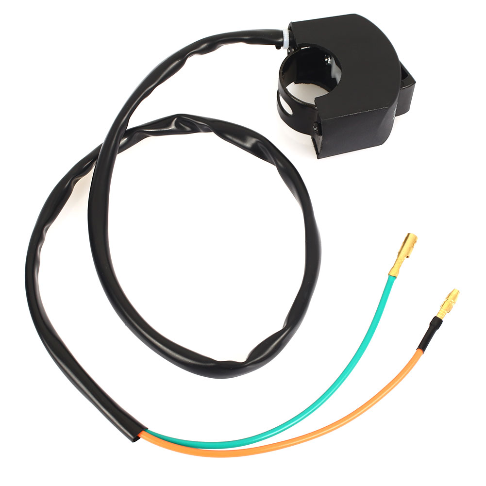 Прочный переключатель света светодиодный точечный свет запасные части на выключенном черном пластиковая фара универсальные аксессуары для мотоциклов