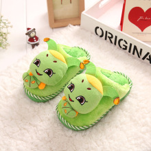 Hot Sale Autumn Winter Cartoon Warm Kids Girls Boys Home Shoes Non-slip Thickening Soft Sole Plush Inner Children Floor Slippers