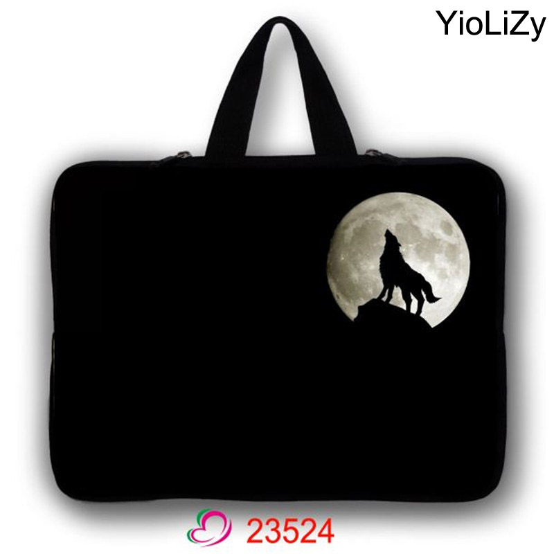 Laptop pouch tablet Case Bag Notebook sleeve cover 7 9.7 12 13 13.3 14.1 15 15.6 17.3 inch women briefcase men handbag LB-23524