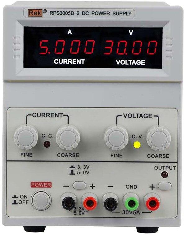 REK RPS3005D-2 Digital DC Power Supply Single adjustable 30V 5A cps 6011 60v 11a digital adjustable dc power supply laboratory power supply cps6011