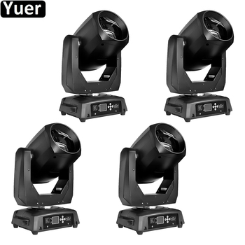 4 teile/los 200W Moving Head Licht Strahl Spot 2IN1 Leier DMX512 Farbe Musik DJ Disco Licht Hochzeit Party Bar moving Head Licht