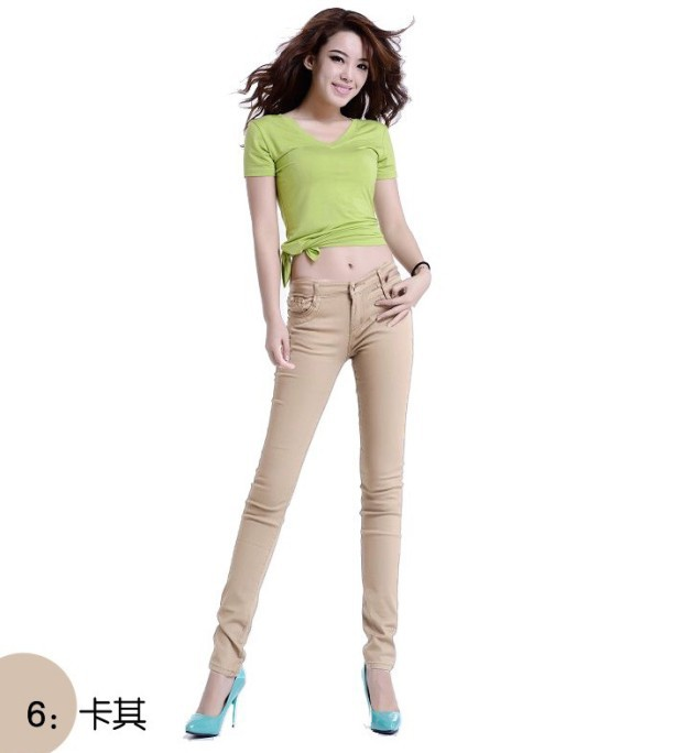 b5cfef1dc3021 XS XXXL plus size 22 Color womens spring summer denim skinny jeans women  overalls elastic pencil pants free Drop shipping-in Jeans from Women s  Clothing on ...