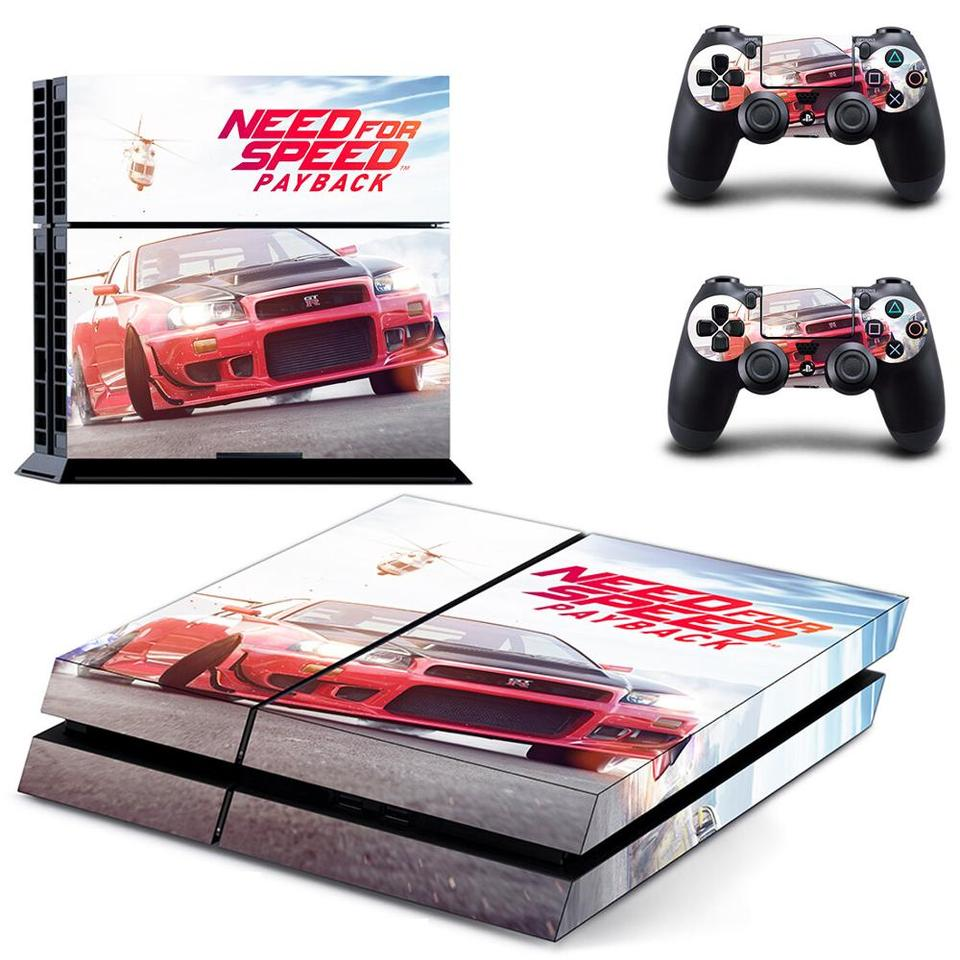 Need For Speed Payback Ps4 Skin Sticker For Dualshock Playstation