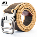 2017 Marcas Belts For Men New Striped Adult Casual Men Knitted Cintos Femininos Belt Man Canvas Lengthen Strap Male Personality