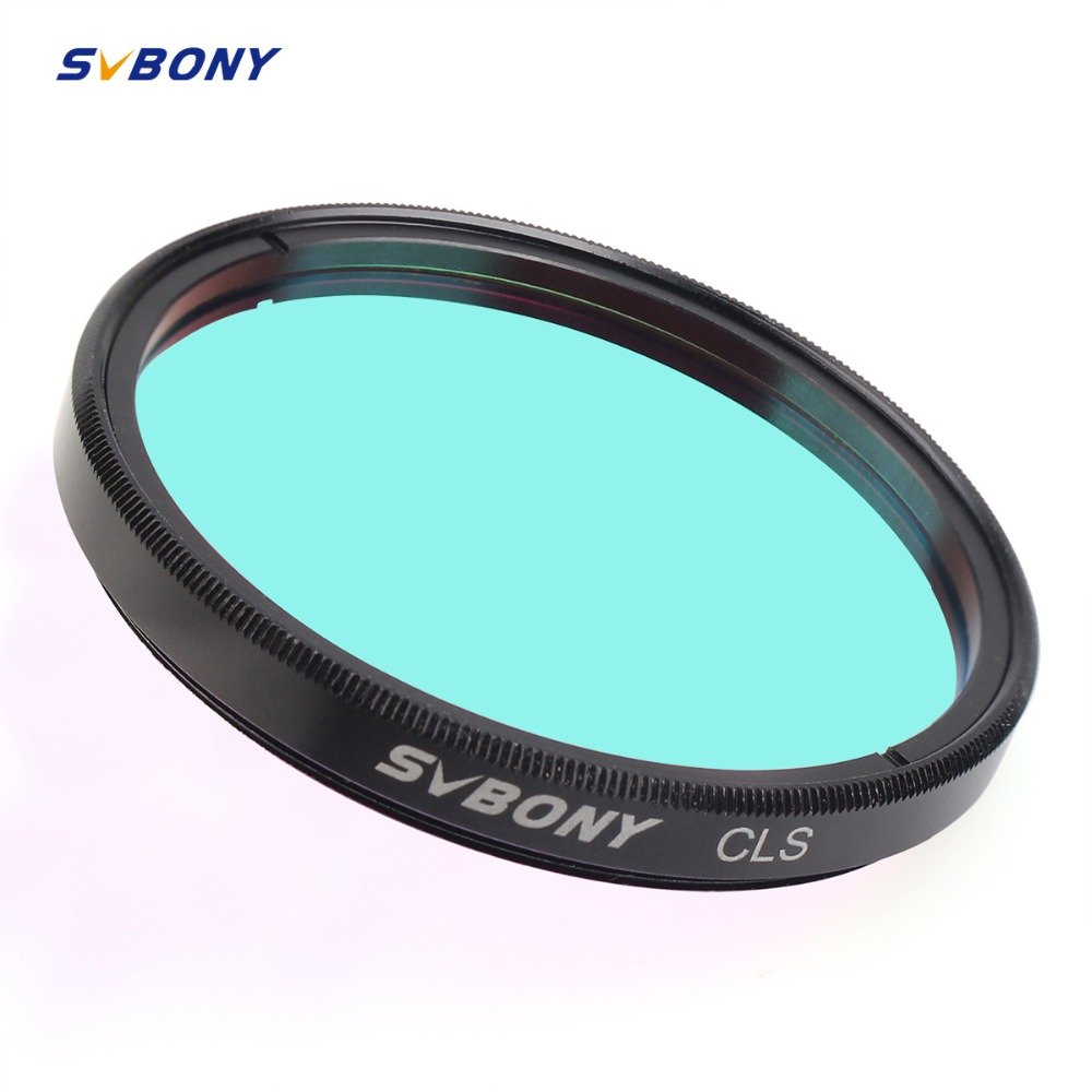 SVBONY Filter 2inch CLS Deep Sky for Astronomy Telescope Eyepiece Cut Light Pollution Astronomy Photograph Astro Telescope F9155