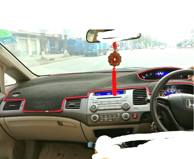 Dashmats Car Styling Accessories Dashboard Cover For Honda Civic Si Type R 2006 2007 2008