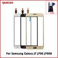 """Оригинал 5.0 """"Сенсорный Экран digitizer Для Samsung Galaxy J7 J700 J7008 Стеклянная Панель Замена Бесплатная Доставка Черный/Белый/Золото"""