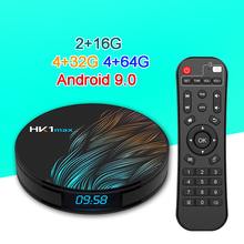 Get more info on the HK1 Max Android 9.0 TV Box 4GB 64GB Rockchip RK3328 1080P H.265 4K 60fps BT4.0 Google Play store Netflix Youtube Set top box