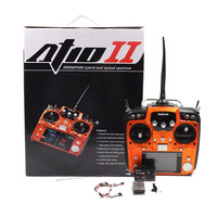 RC игрушки часть дистанционного управления ler радио Link AT10II 2,4 ГГц 12CH RC пульт дистанционного управления и R12DS приемник PRM01 для дрона несколько ф