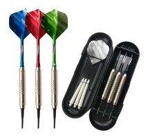 New style B soft dart Flights Multiple Styles Colorful 3PCS PET Darts Flights Newly Dart Accessories with box Nice Dart Flights цена