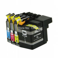 1 Set Compatible Ink Cartridge LC529 LC525 XL Full Ink For Brother DCP J100 DCP J105