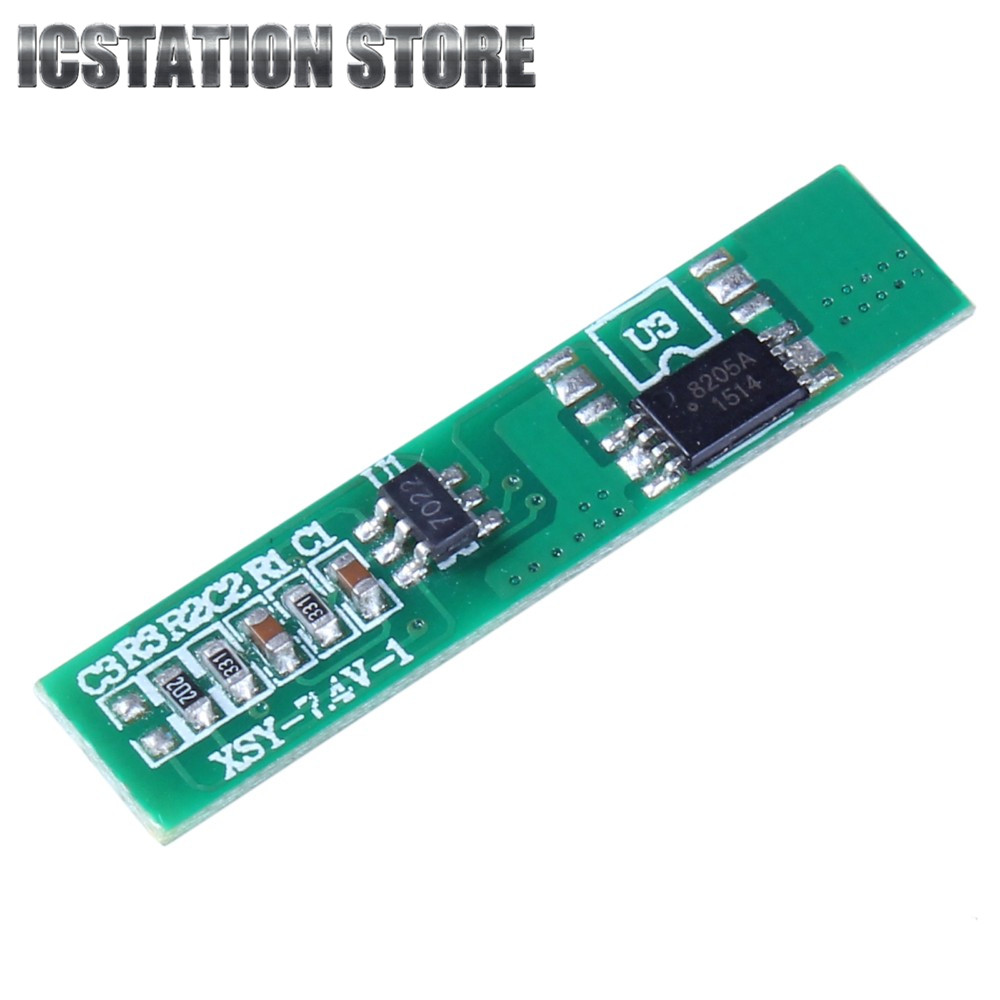2S 7.4V 2.5A Li-ion Battery Protection Board BMS PCM For 18650 Lithium Polymer ion li Battery Protect Module 4a 5a pcb bms protection board for 3 packs 18650 li ion lithium battery cell 3s 2pcs