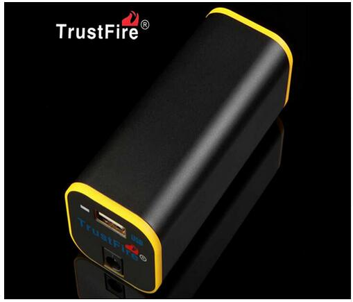 TrustFire Portable Mobile Power Supply <font><b>4</b></font> X <font><b>18650</b></font> Battery Power Bank <font><b>Powerbank</b></font> USB Charger for MP3 MP4 Mobile Cell Phone image