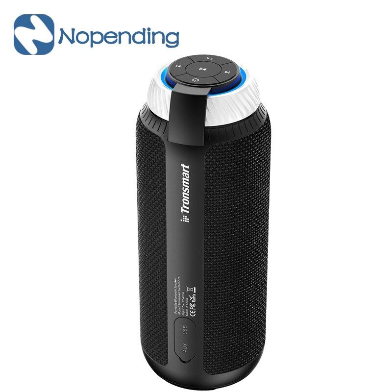 D'origine Tronsmart Élément T6 Bluetooth Portable Haut-Parleur Sans Fil Barre De Son Récepteur Mini Haut-parleurs USB AUX pour IOS Android Xiaomi