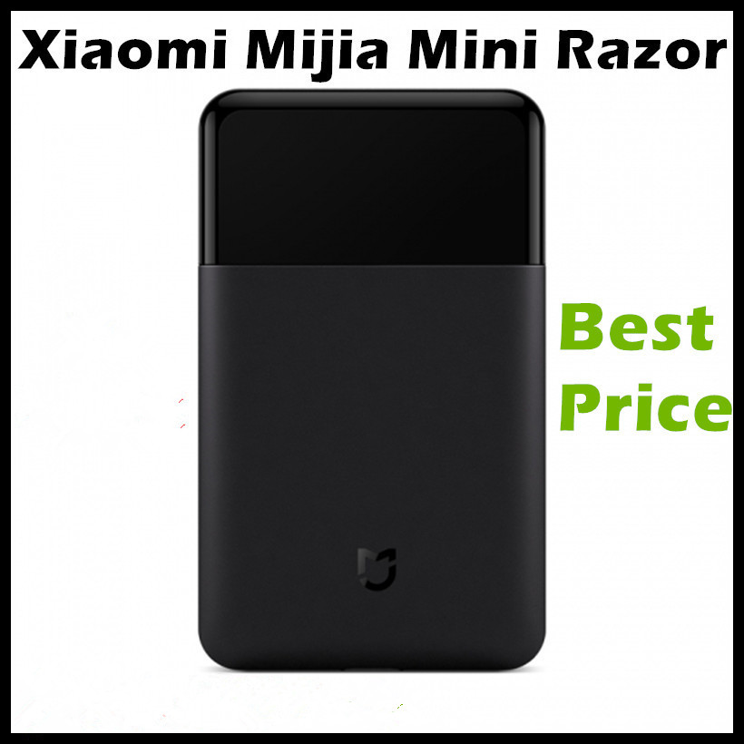 In Stock Xiaomi Mijia Mini Portable Electric Shaver Razor Fully Metal Body Japan Bit 30 Days Use One Time Charge Mijia Shaver philips brl130 satinshave advanced wet and dry electric shaver