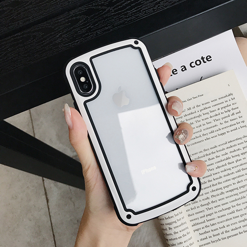 LUPHIE Luxury Transparent Case For iPhone X XS Max XR 8 7 Plus (11)