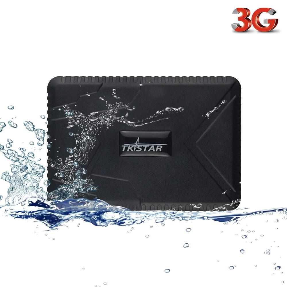 Vehicle Tracker TK915 3G GPS Locator Waterproof Strong Magnet 3G Car GPS Tracker 12 24V 7800mAh