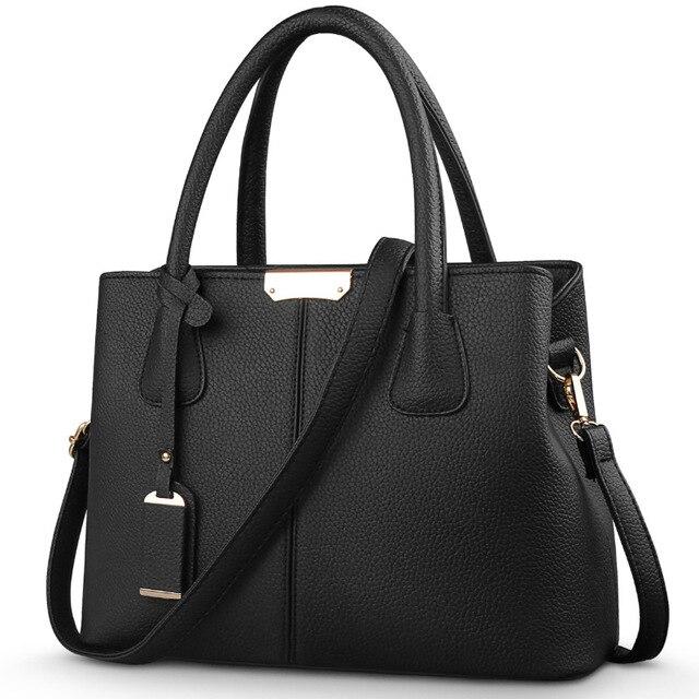 c409c616e7d22 Hot Sale 2017 New Fashion Ladies Satchels bags Handbag Big Bag Women  Shoulder Messenger Bag
