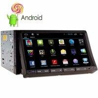 אנדרואיד 5.1 קיבולי HD ליבות מסך מגע DVD לרכב יחידת ראש GPS נגן וידאו אודיו סטריאו Bluetooth DAB + היגוי גלגל