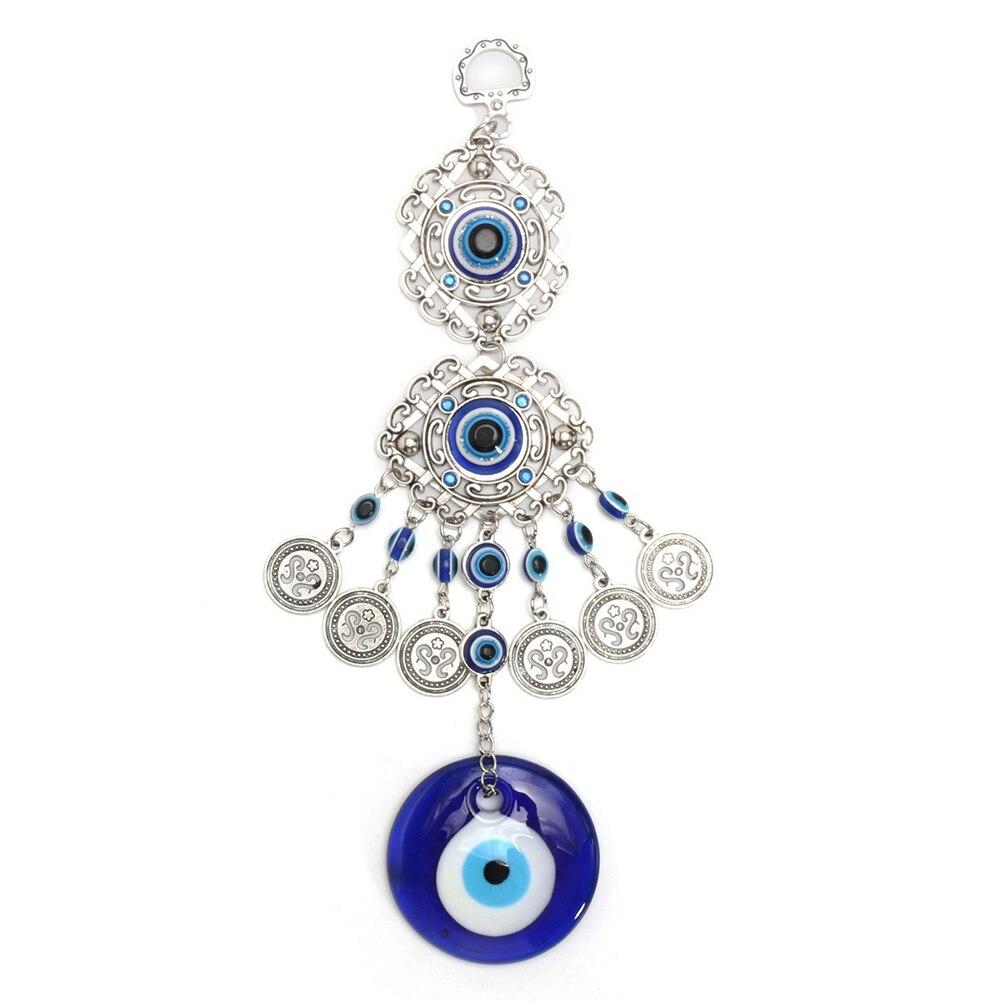 Fashion Turkish Blue Evil Eye Bedroom Ornament Amulet Wall