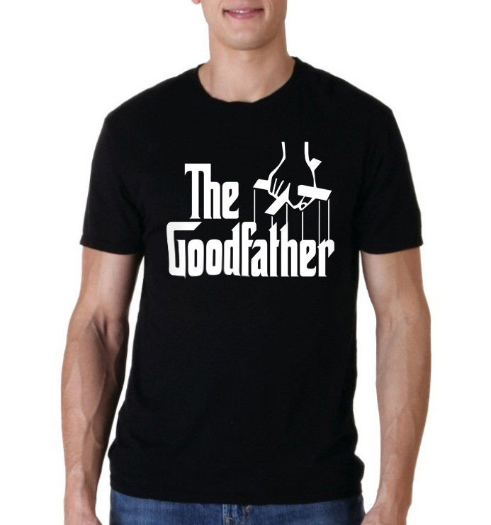 New Funny Men T-shirt The Goodfather Father`s Day , Birthday