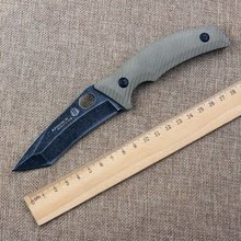 New Strider Fixed Knife 8Cr18Mov Blade Hunting Tactical Knife G10 Handle Leather Sheath Camping Survival Knives Outdoor Tools B