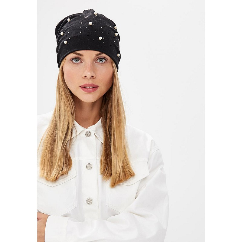 Headwear MODIS M182A00263 hat for female Headband Bandana Head Bandage Hair Accessorie  for woman TmallFS han edition of the new hair headwear pearl diamond hair hoop winding head band