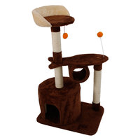 39 Stable Cute Cat Tree Tower Cat Climb Tree Toy For Cats SKU25408737