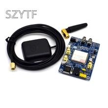 SIM808 במקום SIM908 מודול GSM GPRS GPS פיתוח לוח IPX SMA עם GPS אנטנה זמין עבור פטל Pi או arduino