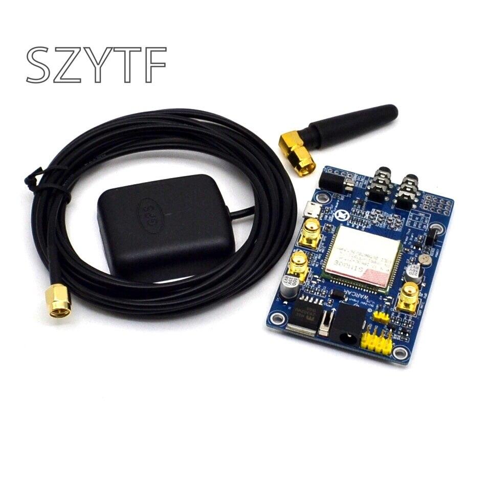 SIM808 anstelle von SIM908 modul GSM GPRS GPS Entwicklung Bord IPX SMA mit GPS Antenne verfügbar für Raspberry Pi oder arduino
