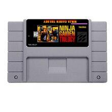 Grande Promoção de NINJA GAIDEN TRILOGIA Jogo De Cartas Para 46 Pin 16 Bit Jogador Do Jogo NTSC Salvar o Arquivo!