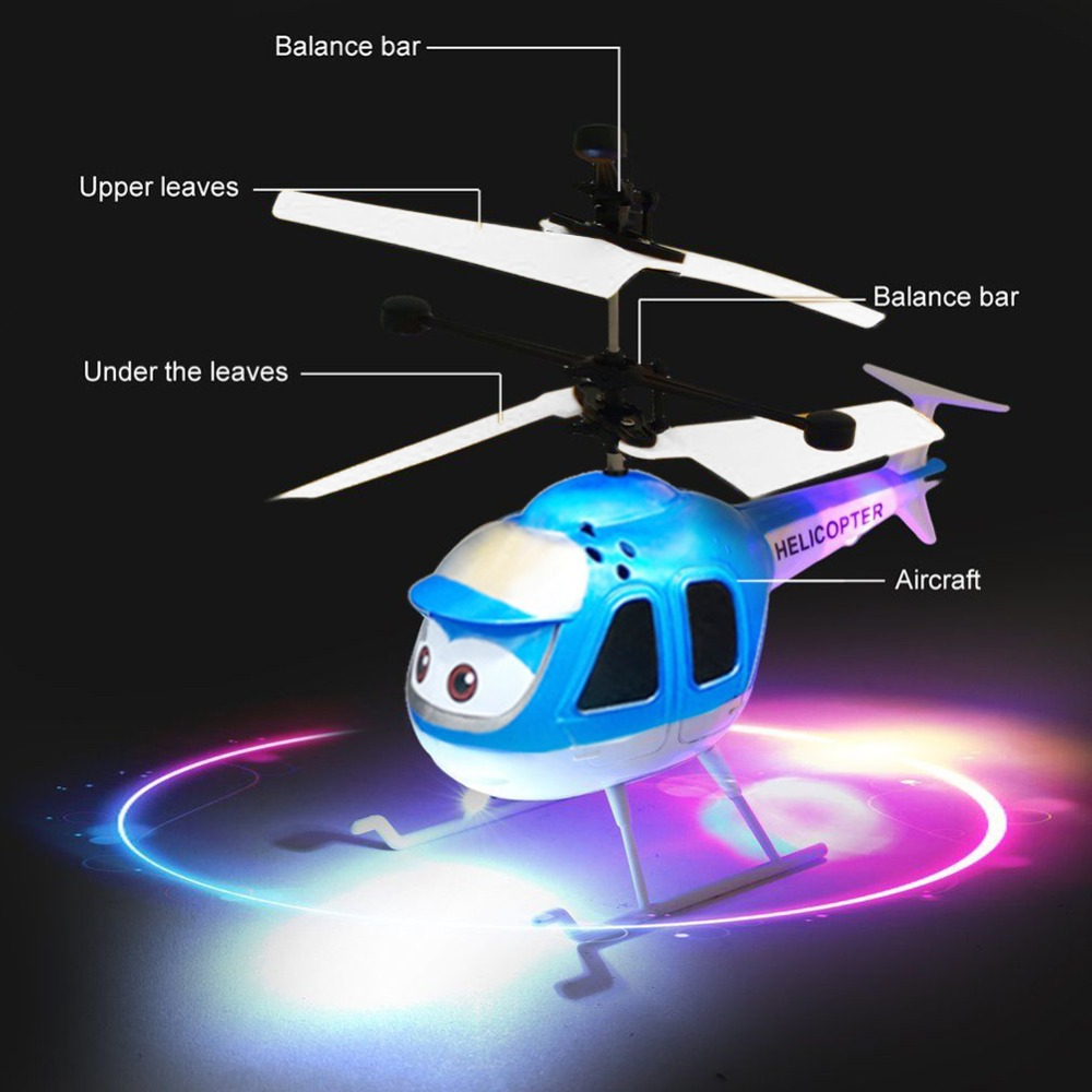 Rc Helicopters Hospitable Hot Sale Mini Infrared Sensor Helicopter Aircraft 3d Gyro Helicoptero Electric Micro Helicopter Birthday Toy Gift For Kid#257747 Elegant And Graceful Toys & Hobbies