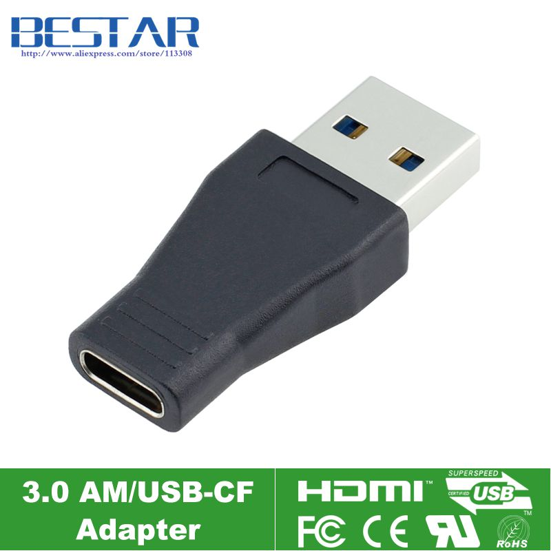 USB-C USB 3.1 Type C Vrouw naar USB 3.0 Male Adapter Connector Adapter Converter Adapter Type-C 5 Gbps overdrachtssnelheid