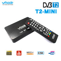 Signal Receiver of TV Fully for DVB T Digital Terrestrial DVB T2 H.264 DVB T2 Timer no Supports for Russia Ukraine shipping