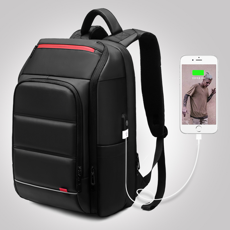 Men's Backpack Multifunction Waterproof Anti-theft USB Charging Laptop Backpack Youth Travel Bag School Backpack