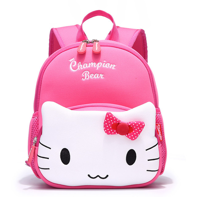 Aged1-4 Anti-lost Small Toddler Bags Children School Bags for Girls Hello  Kitty Cartoon Baby Backpack Kids Bag mochila escolar 685e56906d42f