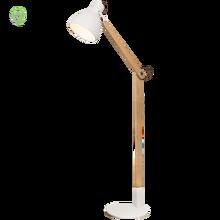 Nordic standing lamp Modern wood floor living room Bedroom stand light free lamps for luminaire