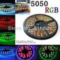 Decoração da casa LED / decorativo tira à prova d ' água 5 M SMD 5050 300 LED / Roll + 24Key + 12 V 6A fonte de alimentação RGB / branco / vermelho / verde / azul / amarelo