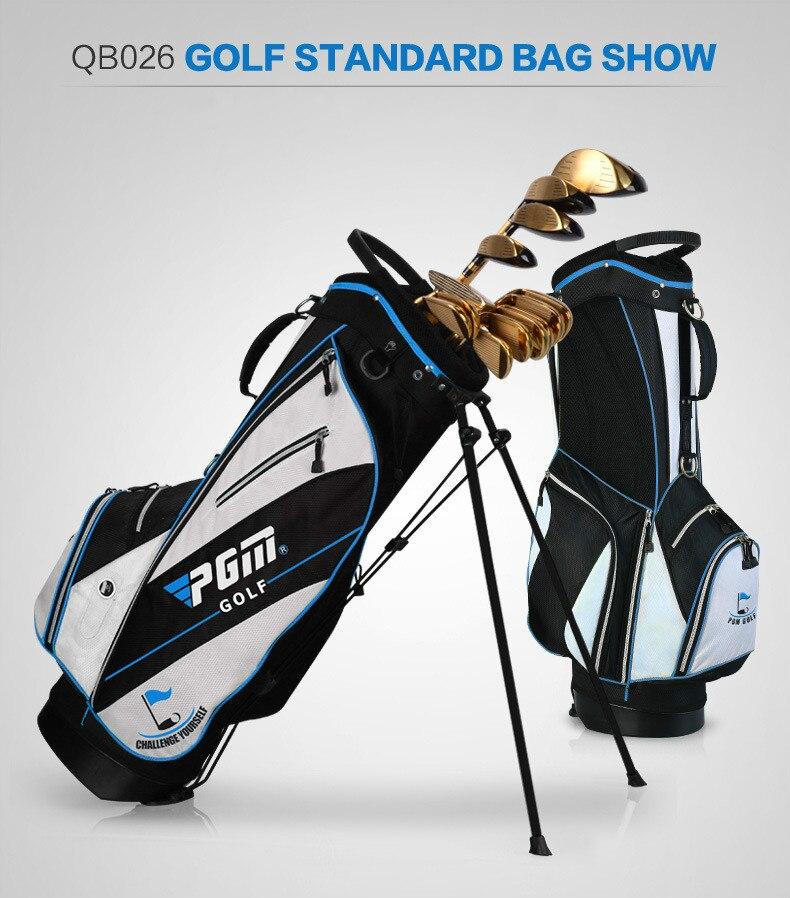 Les fabricants ont adapté le nouveau sac de support de golf de PGM les hommes et les femmes tiennent l'édition portative d'ultraportabilité - 3
