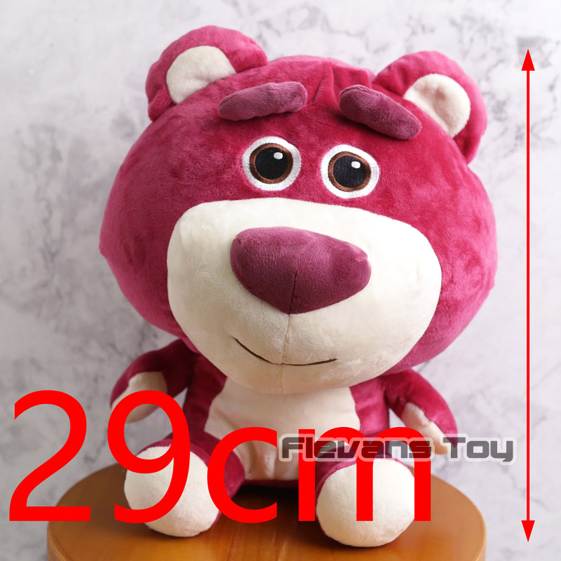 Toy Story Lotso Strawberry Bear Cartoon Cute Kawaii Stuff Plush Toy Girl Baby Birthday Gift Christmas Gift Toys
