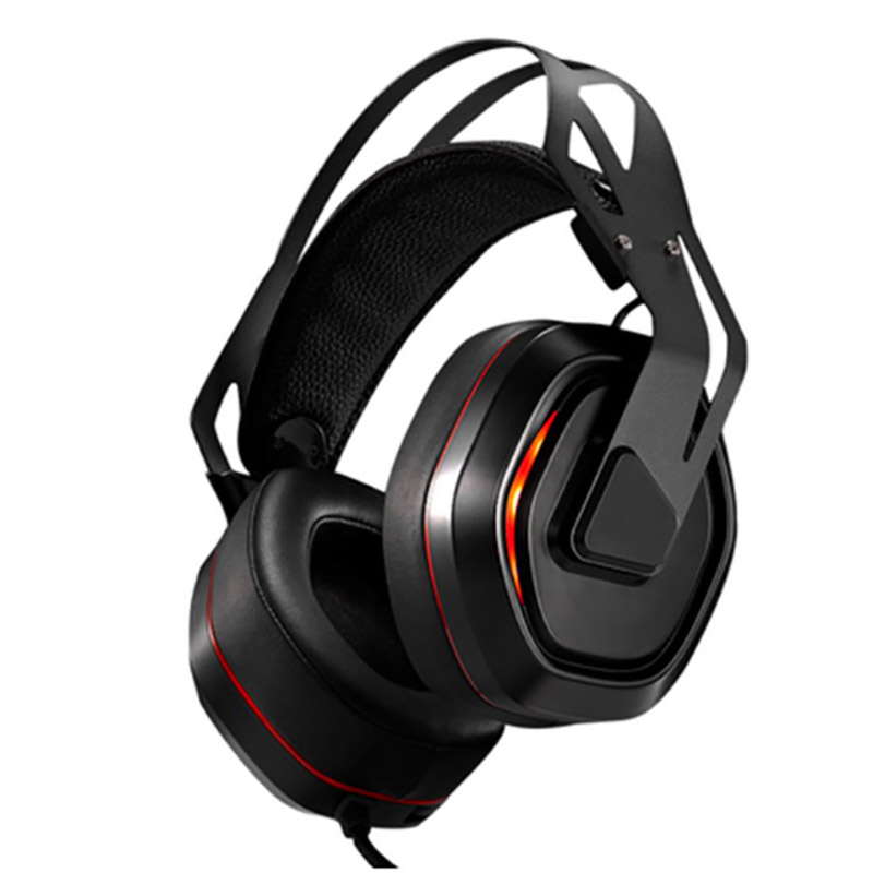 Xiberia S18 Pc Headset Usb 7.1 Surround Sound Gaming Headphones Stereo Bass Casque With Microphone Led Light For Computer Lapt-1