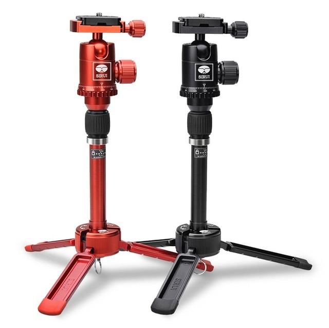 SIRUI 3T 35 Tisch Top/Handheld Video Stativ mit Kugelkopf Schwarz
