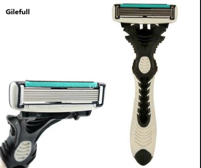 חדש Pro 8 יח\חבילה DORCO קצב 6 חד תער להבים לגברים מכונת גילוח סכיני גילוח Mens אישי חד פעמי גילוח גילוח להבים