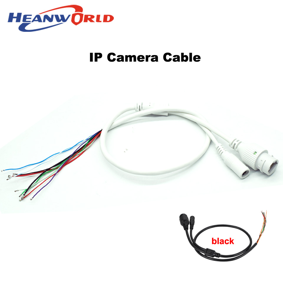Heanworld IP camera cable for IP network camera cable replace cable RJ45 camera Cable DC12V for CCTV ip camera replace use Heanworld IP camera cable for IP network camera cable replace cable RJ45 camera Cable DC12V for CCTV ip camera replace use