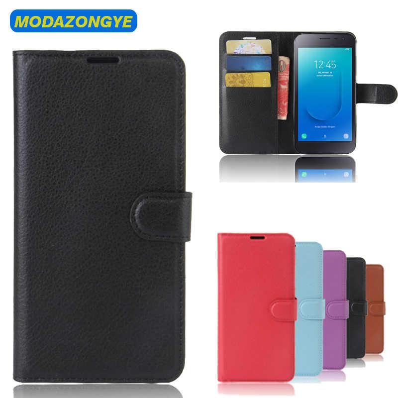 Флип чехол для Samsung Galaxy J2 Core кошелек телефона из искусственной кожи J 2 J2Core 5 0 дюйма
