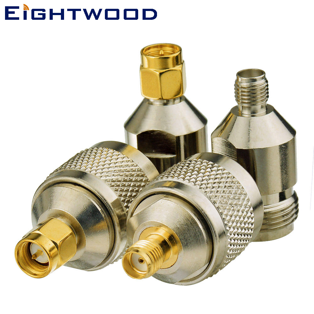 Eightwood SMA-N RF Kit Adaptateur SMA à N 4 type