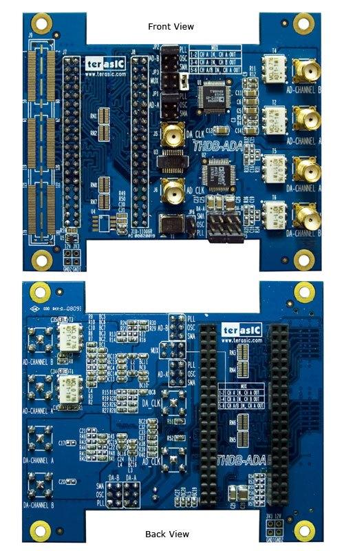 Collocation With DE2-115 SoCKIT AD/DA High Speed Data Acquisition ADA-HSMC ADA-GPIO