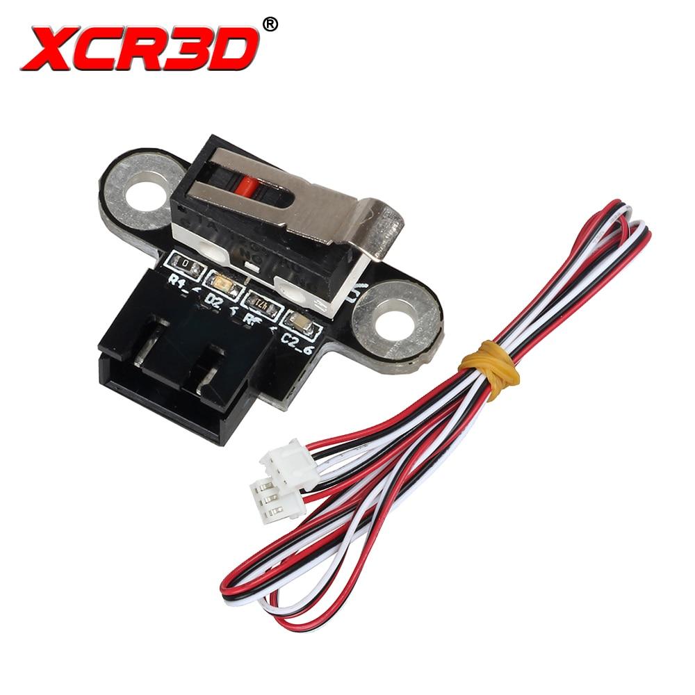 XCR3D 3D Printer Parts Vertical Type Mechanical Limit Switch Module For DIY Reprap Endstop 3D Printers Accessories Ramps 1.4