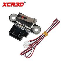 цена на XCR3D 3D Printer Parts Vertical Type Mechanical Limit Switch Module For DIY Reprap Endstop 3D Printers Accessories Ramps 1.4